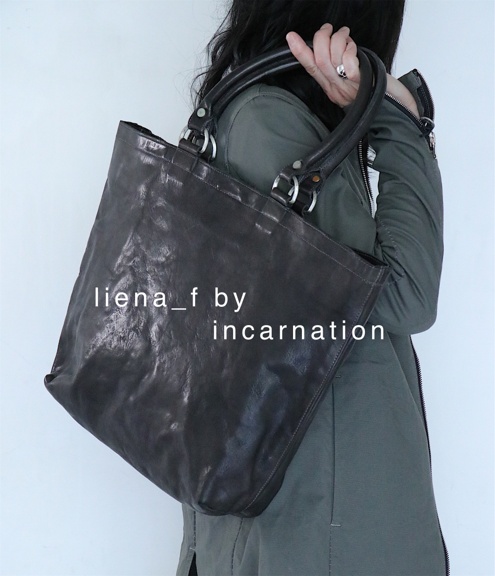 linea_f by incarnation 入荷中 / トートバッグが好評みたいです