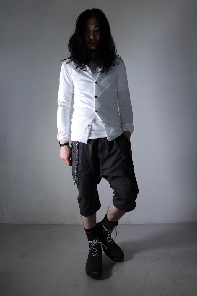 "Himeji Styling  /  ""シャツを基軸にしたストイックスタイル"" _ THEE SIX EYES"